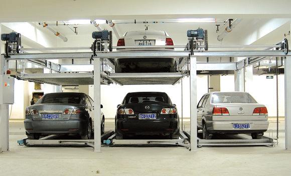 升降横移式立体车库