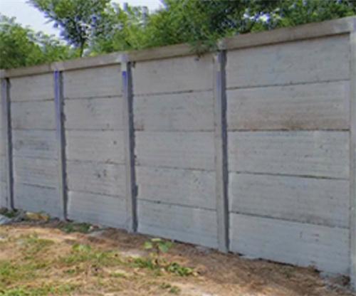 原先水泥预制围墙的优势有这么多……