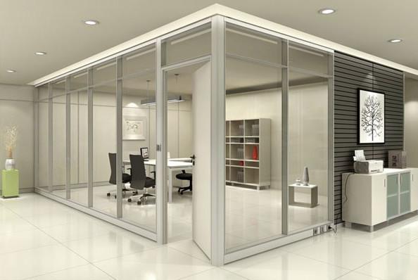 办公高隔间玻璃隔断性能及优势,你知道多少钱?