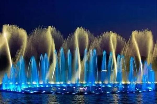 音乐喷泉好看,但你知道它在设计时必须注意什么?