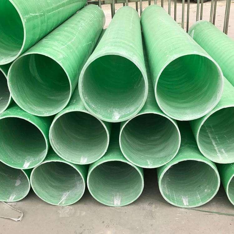 淺析玻璃鋼夾砂管道優點和運用