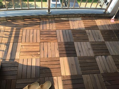 防腐木地板让你的庭院有焕然一新的感觉