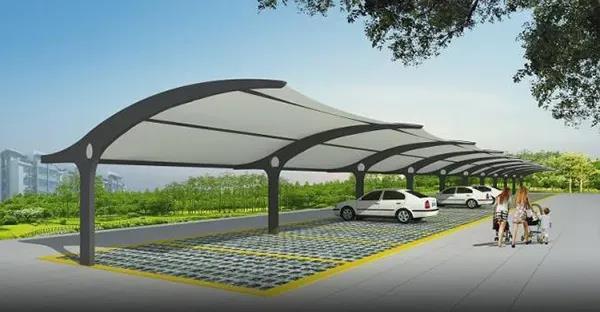 你知道膜结构停车棚技术的创新与发展吗?