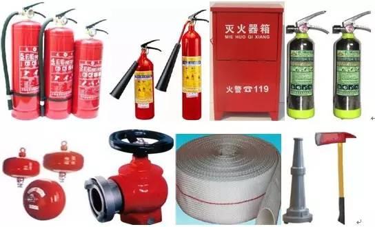四川消防设施涉及到哪些器材?