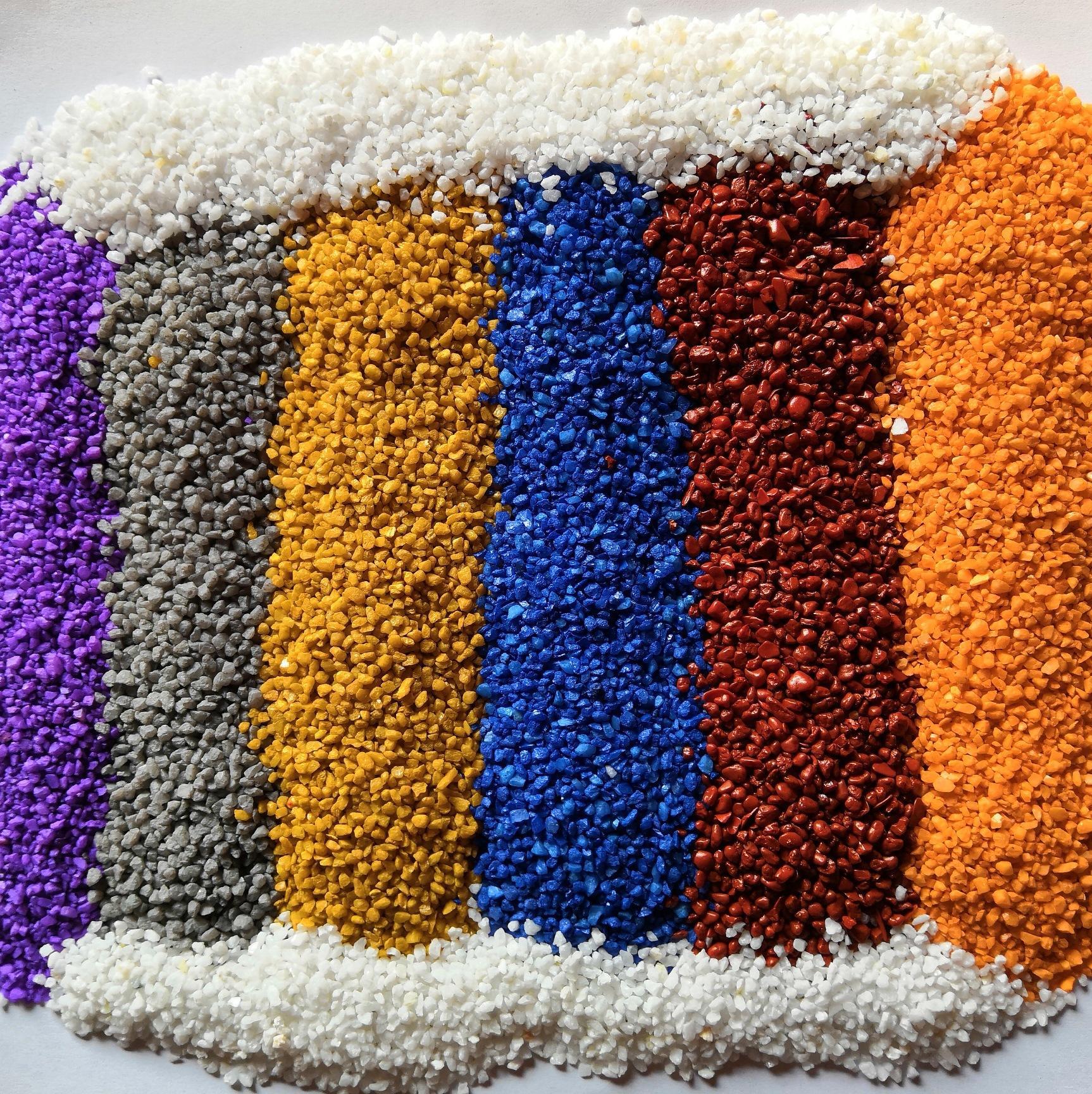 彩色陶瓷颗粒路面的特点性能以及应用范围、施工技术等...