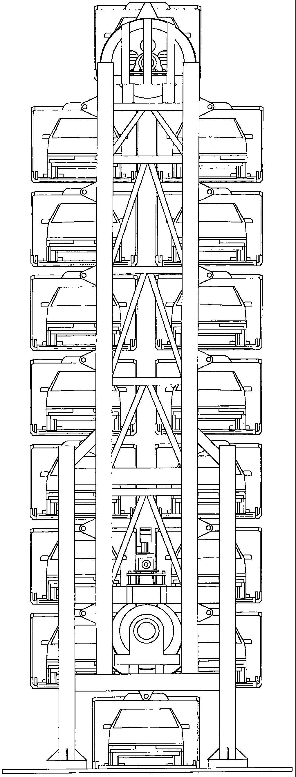 垂直循环立体车库具有哪些设计特色呢?以及立体车库安装步骤