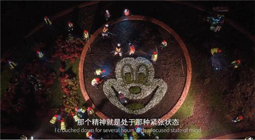 上海迪斯尼身后曝出:新萌那天晚上赶工,喷画师零晨补墙,这是怎么了?