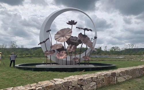 设计园林景观雕塑都尽量考虑到哪些因素及其设计的五大要素