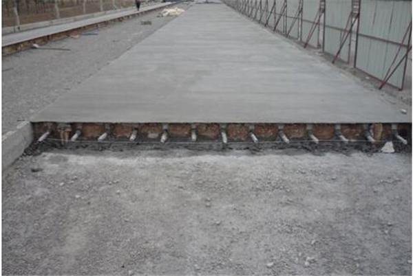 水泥路面修补如何保证质量你知道吗?原来修补料是关键