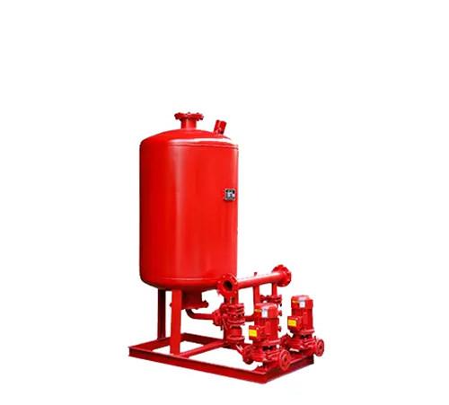 消防水泵和稳压泵的安装.