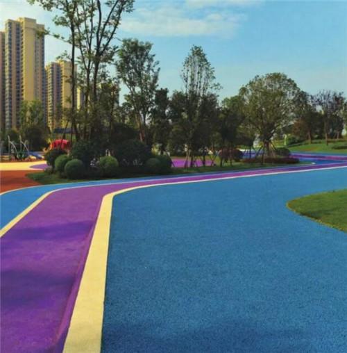 彩色防滑路面材料分匯總及解析