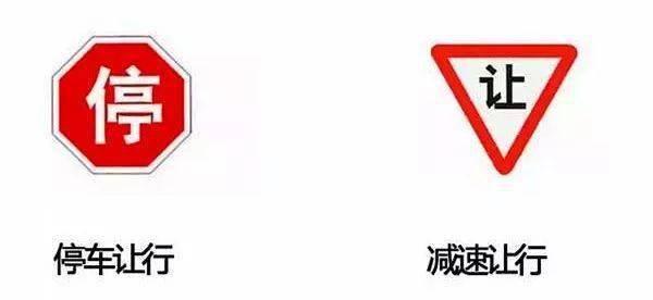 这类交通标识标牌较为难以辨认,你都把握他们吗?