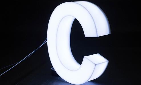 怎样简易制作led发光字?这篇文章教你怎么弄?