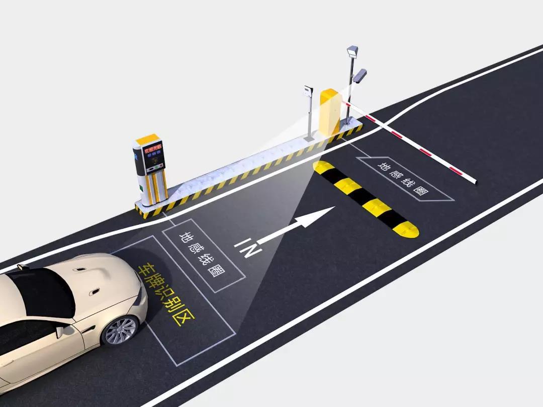 停车场设备地感线圈的安装与特性