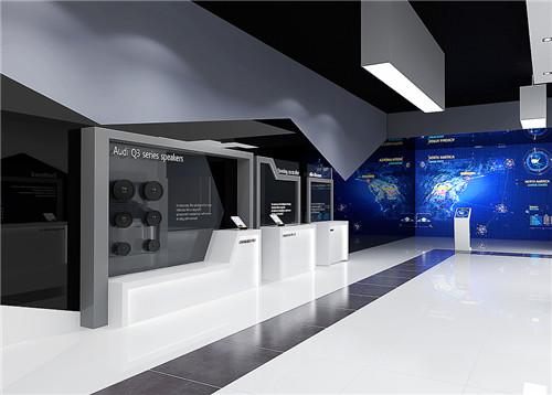 展厅设计中装饰材料应该怎样选择呢?