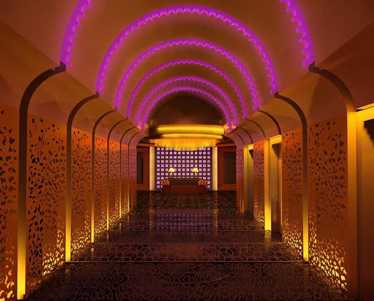 不锈钢装饰运用得当提高酒店装修档次,让酒店餐厅更有质感!