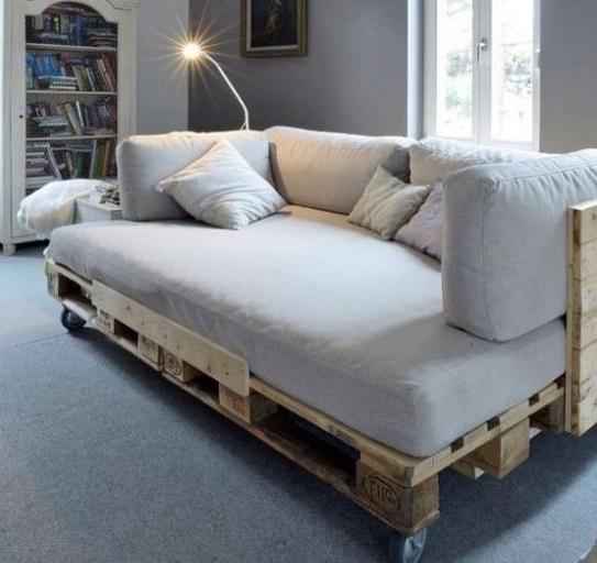 货运托盘可以用于家居?国外设计师用其装饰房子,效果美呆了!