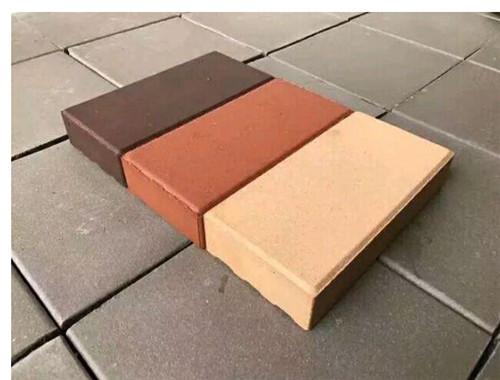 陶瓷透水砖与陶土砖的区别
