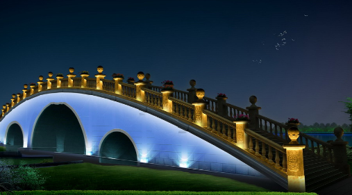 城市亮化选中太阳能景观灯的优势