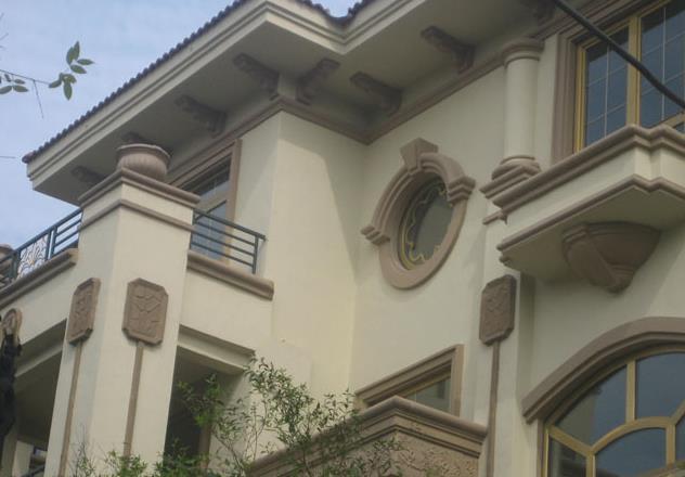 为什么GRC构件与水泥构件的区别很大?是因为GRC欧式古典构件有很多的特性