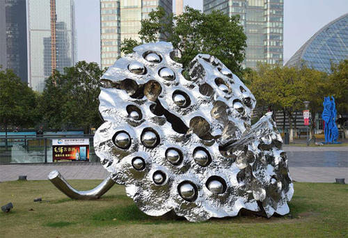 您把握城市雕塑的新应用之一不锈钢雕塑吗?