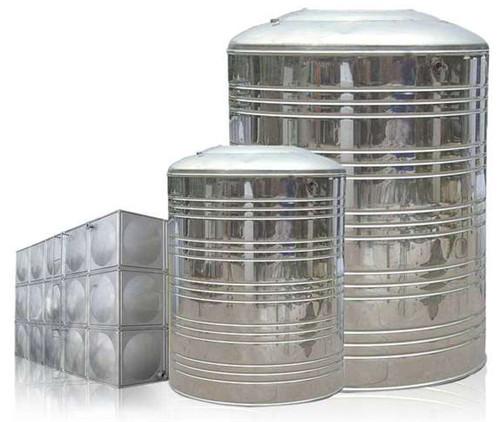 广泛的方形不锈钢水箱与圆形水箱