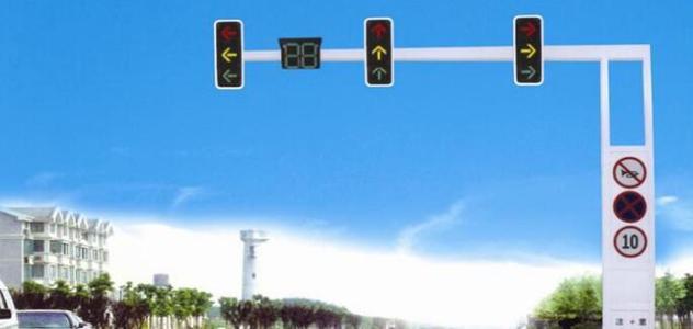 信号灯杆的材质及喷塑处理所产生的好处分享