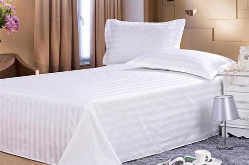 酒店床上用品如何保持高标准的卫生度和白净度?