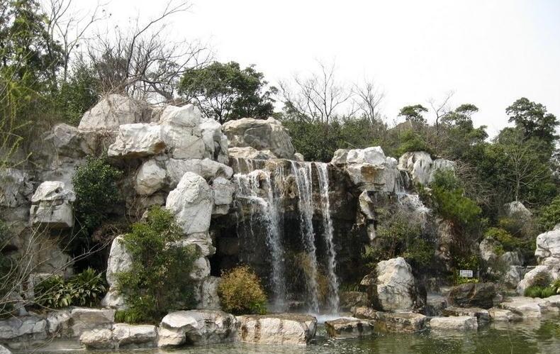 景观假山,中国人庭院不可或缺的好伙伴!