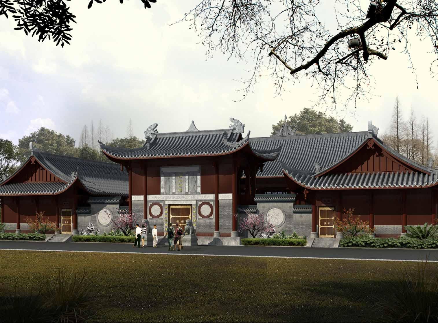 四川古建筑生态园林设计
