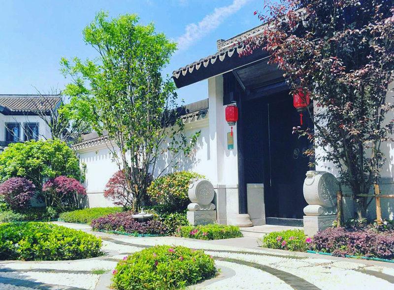 四川中式景区景观施工